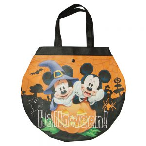 BOLSA REDONDA MICKEY MINNIE HALLOWEEN