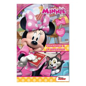LIBRO PARA COLOREAR 16 PGS CON TABLERO MINNIE