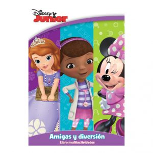 LIBRO PARA COLOREAR 80 PGS DISNEY JUNIOR NIÑAS