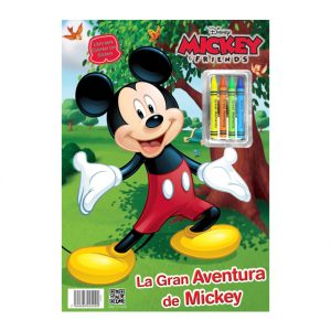 LIBRO PARA COLOREAR MINI FLOOR PAD MICKEY