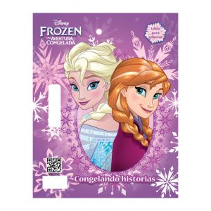LIBRO PARA COLOREAR MINI FLOOR PAD FROZEN
