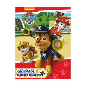 LIBRO STORY HOT STAMPING PAW PATROL