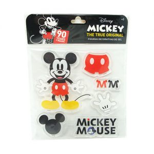 FIGURAS DECORATIVAS DE GEL MICKEY 90TH ANIVERSARIO