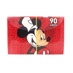 FOLDER MICKEY 90TH ANIVERSARIO