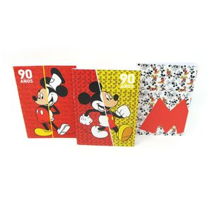 SET DE LIBRETAS MICKEY 90TH ANIVERSARIO