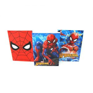 SET DE LIBRETAS SPIDERMAN