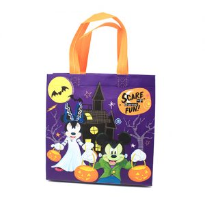 BOLSA NON WOVEN MICKEY & MINNIE HALLOWEEN