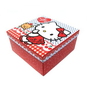 CAJA CON TAPA HELLO KITTY