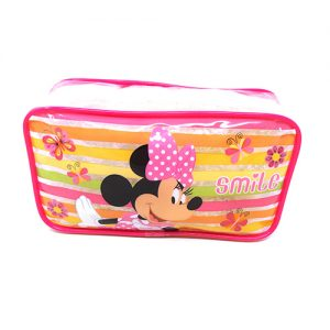 COSMETIQUERA TRANSPARENTE MINNIE