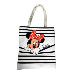 BOLSA DE MANTA MINNIE MOUSE