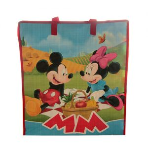 BOLSA DE YUTE MICKEY & MINNIE MOUSE