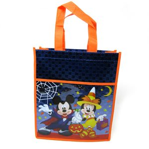 BOLSA NON WOVEN MICKEY Y MINNIE HALLOWEEN