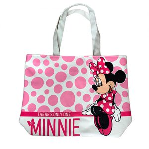 BOLSA DE MANTA GRANDE MINNIE MOUSE