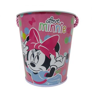 CUBETA MINNIE MOUSE «LOVE MINNIE»