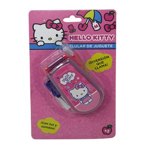 CELULAR DE JUGUETE HELLO KITTY