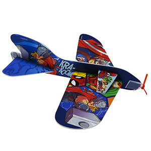AVIÓN DE JUGUETE «SUPER HERO ADVENTURES»