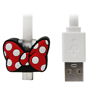CABLE PARA CELULAR «MINNIE MOUSE»