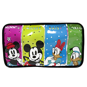 COSMETIQUERA TRANSPARENTE «MICKEY AND FRIENDS»