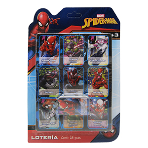LOTERIA «SPIDERMAN»