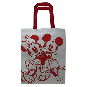 BOLSA NON WOVEN 1 TINTA «MICKEY AND MINNIE»