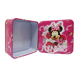 CONTENEDOR METÁLICO «MINNIE MOUSE»