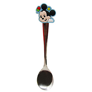 CUCHARA CON RUBBER «MICKEY MOUSE»