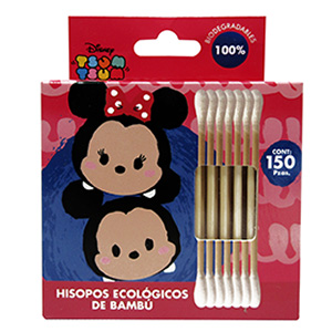 HISOPOS ECOLÓGICOS «TSUM TSUM MICKEY AND MINNIE»